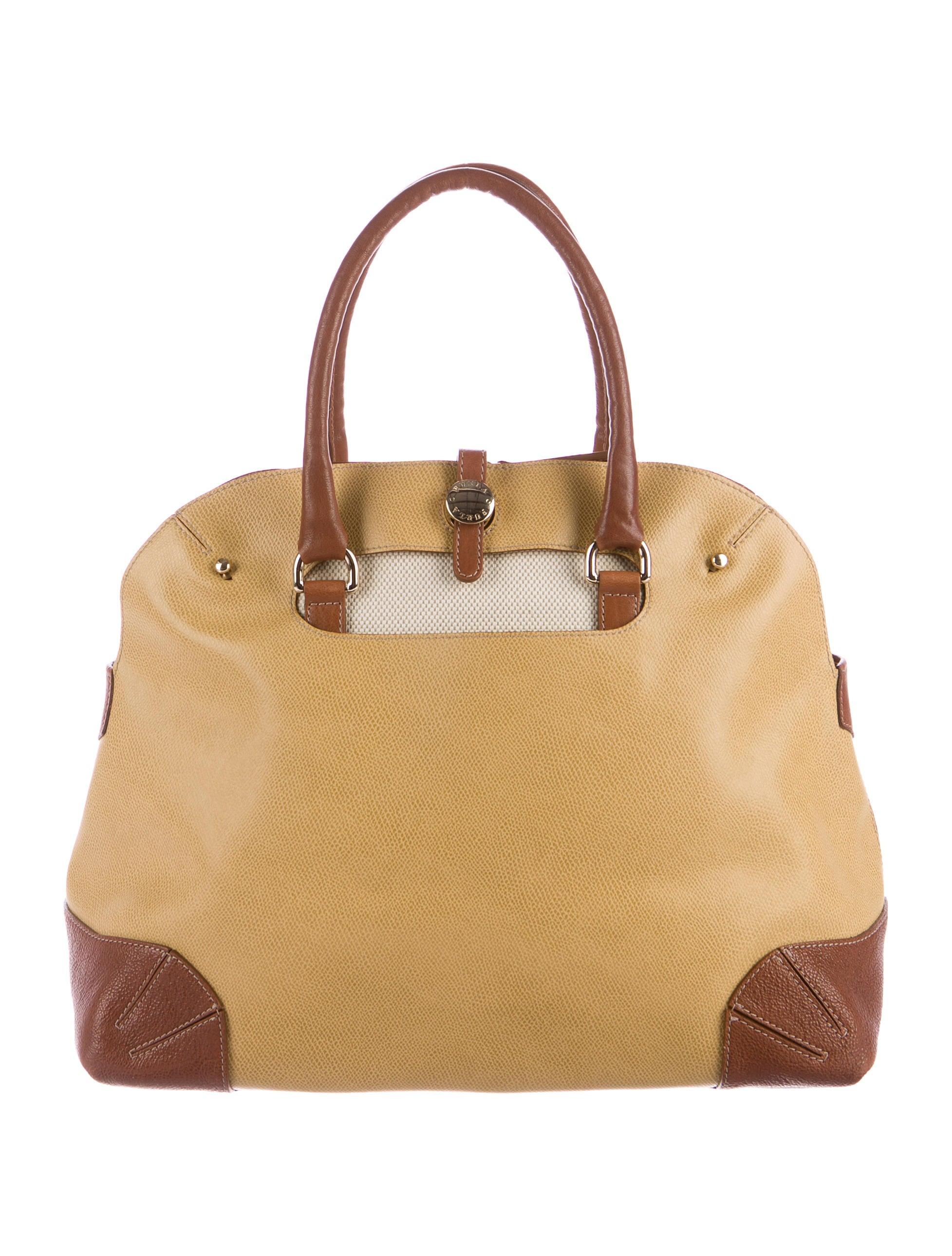 7531899ba3 Furla Textured Leather Tote - Handbags - WFU20350
