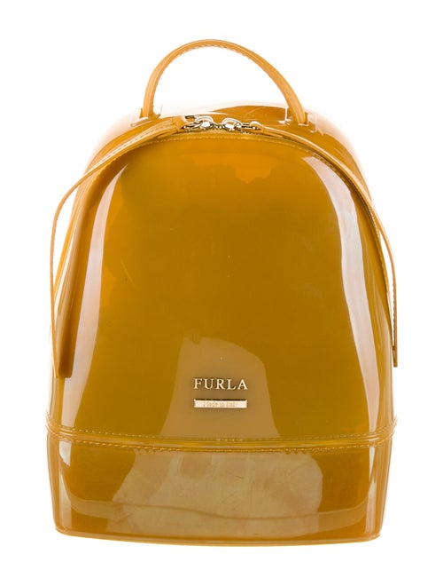 Furla Candy Mini Jelly Backpack Orange