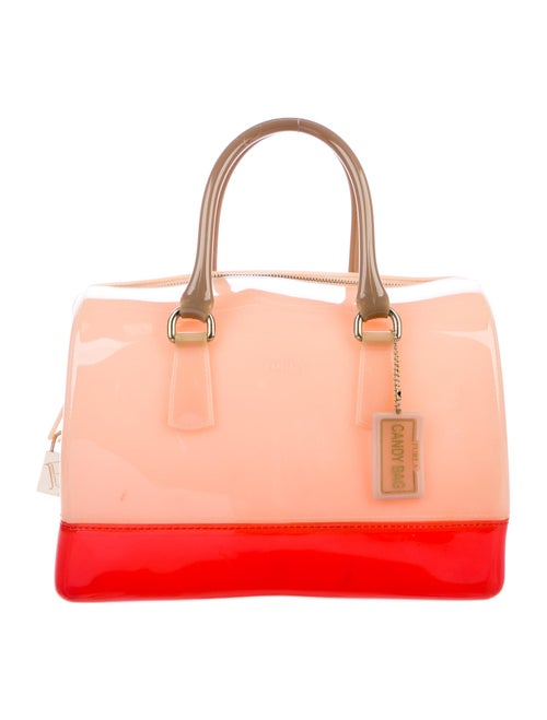 Furla Candy Handle Bag Orange