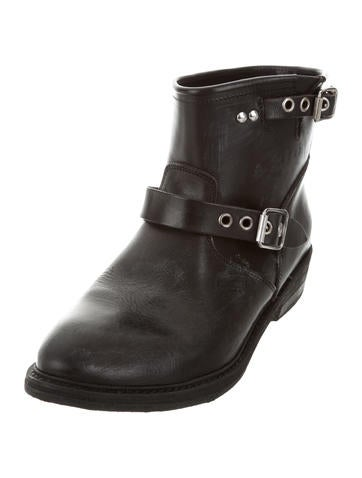 golden goose distressed biker boots w tags shoes wg524408 the realreal. Black Bedroom Furniture Sets. Home Design Ideas