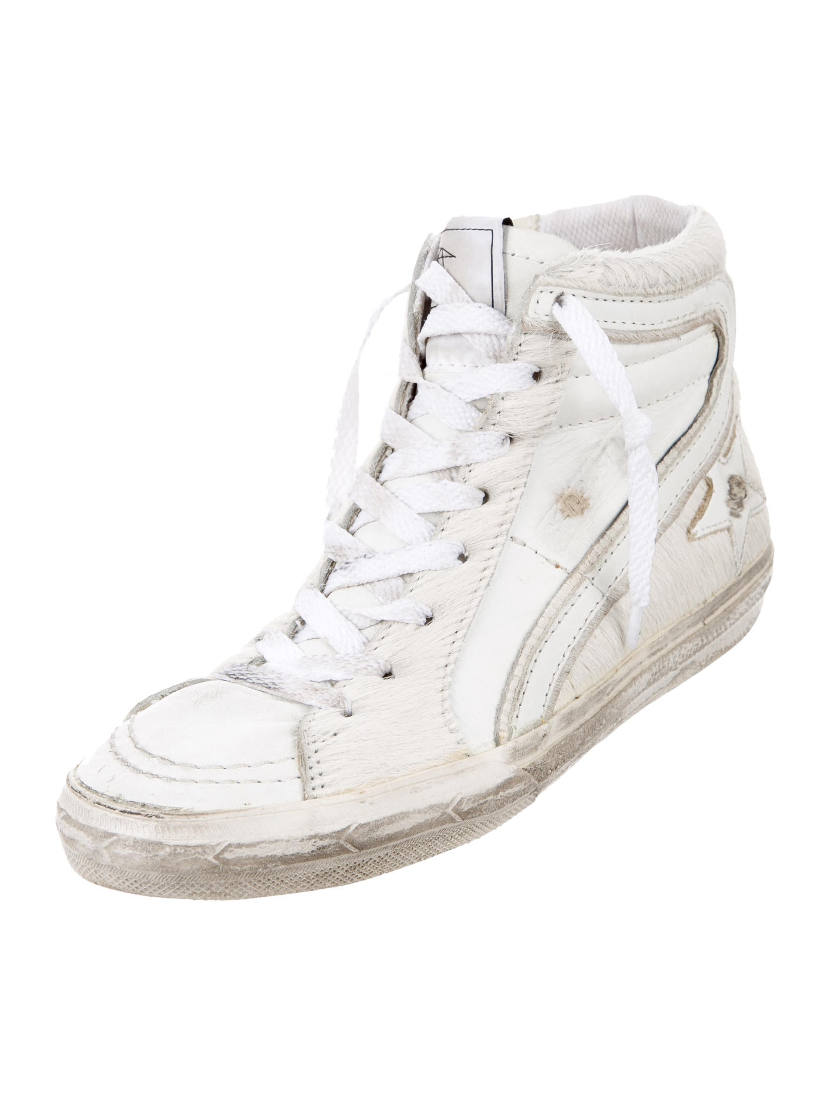 the best store to get Golden Goose Uma Distressed High-Top Sneakers official for sale footaction cheap online best place cheap online YNDYb4x2