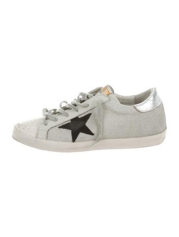 Golden Goose Superstar Low Top Sneakers by Golden Goose