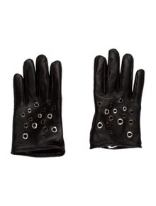 5558c9b1827 Golden Goose. Grommet Leather Gloves w  Tags.  95.00