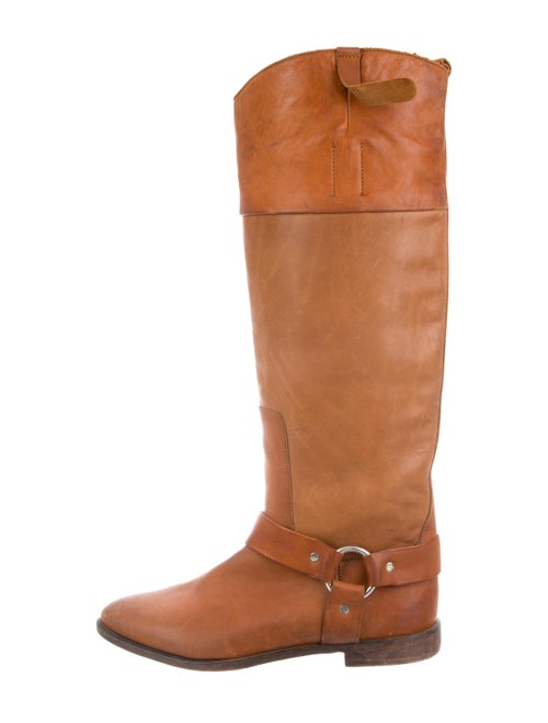 Golden Goose Leather Knee-High Boots