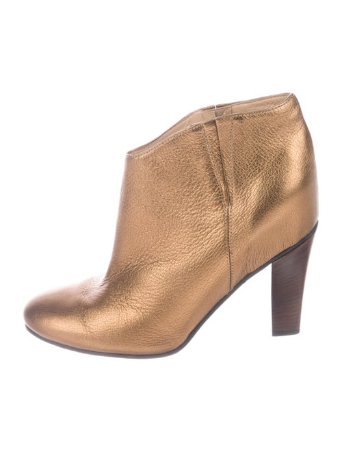 Golden Goose Jen Ankle Boots Gold