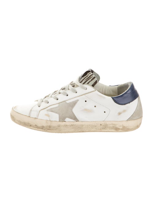 Golden Goose Superstar Low-Top Sneakers Leather Sn