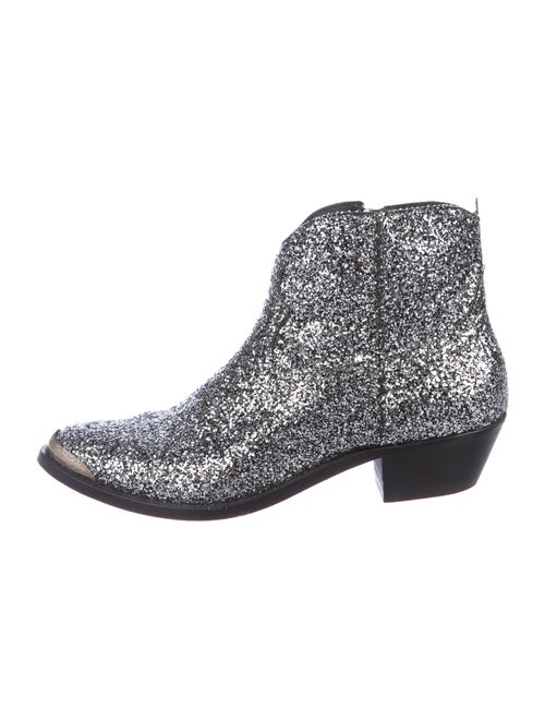 Golden Goose Boots Silver