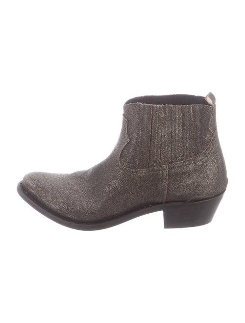 Golden Goose Western Boots Black