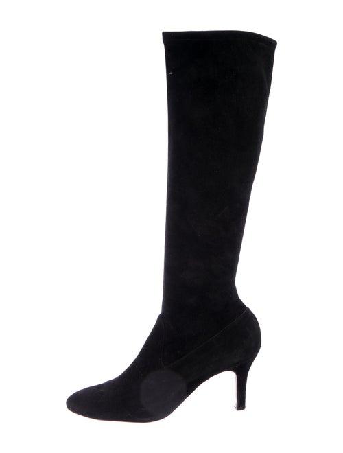 Golden Goose Suede Sock Boots Black
