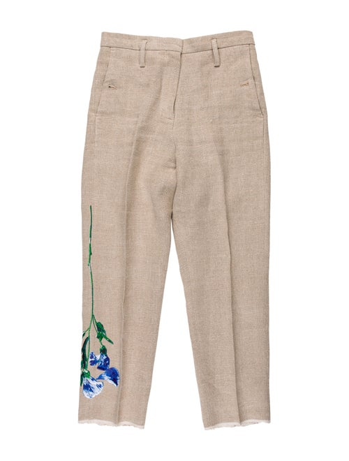 Golden Goose Linen Straight Leg Pants