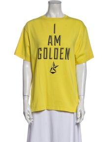 Golden Goose Graphic Print Crew Neck T-Shirt