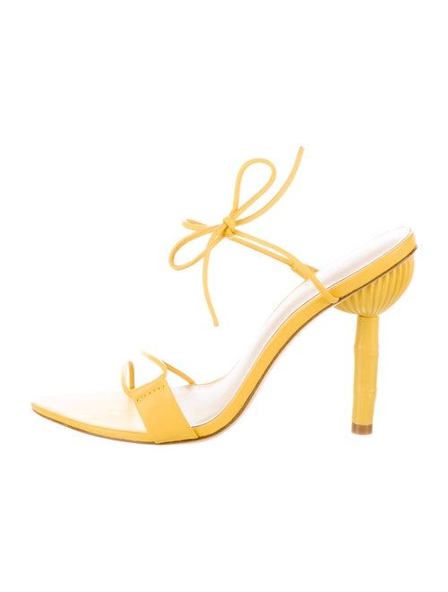 Cult Gaia 2019 Malia Sandals Yellow