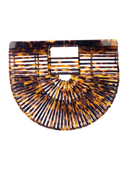 Cult Gaia Acrylic Ark Bag Brown