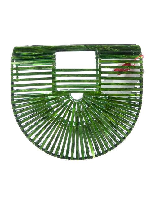 Cult Gaia Ark Handle Bag Green