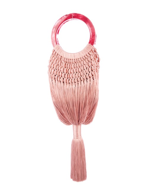 Cult Gaia Small Angelou Bag Pink
