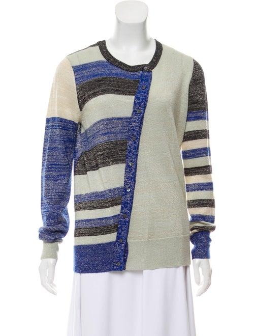 Galliano Lightweight Knit Cardigan Green