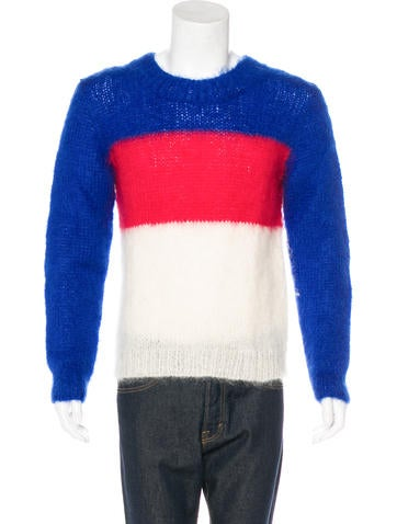Ganryu Mohair Crew Neck Sweater w/ Tags None