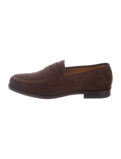 Gant Suede Dress Loafers Brown