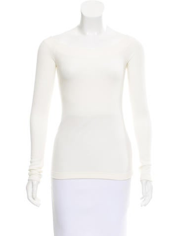 GettingBackToSquareOne Long Sleeve Rib Knit Top None