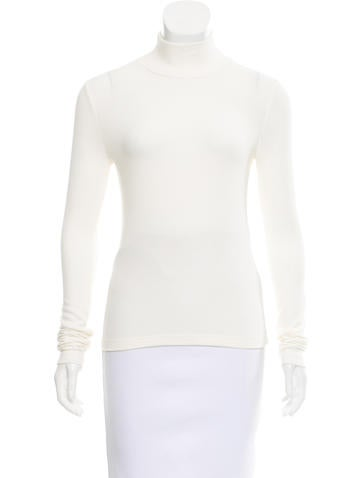 GettingBackToSquareOne Mock Neck Rib Knit Top None