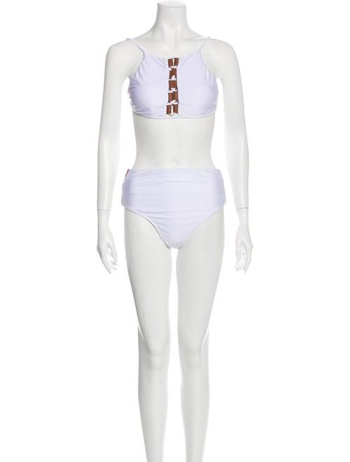 Agua de Coco Bikini w/ Tags White