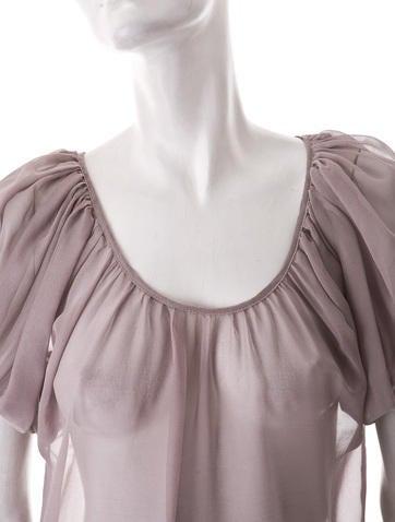 Silk Chiffon Top