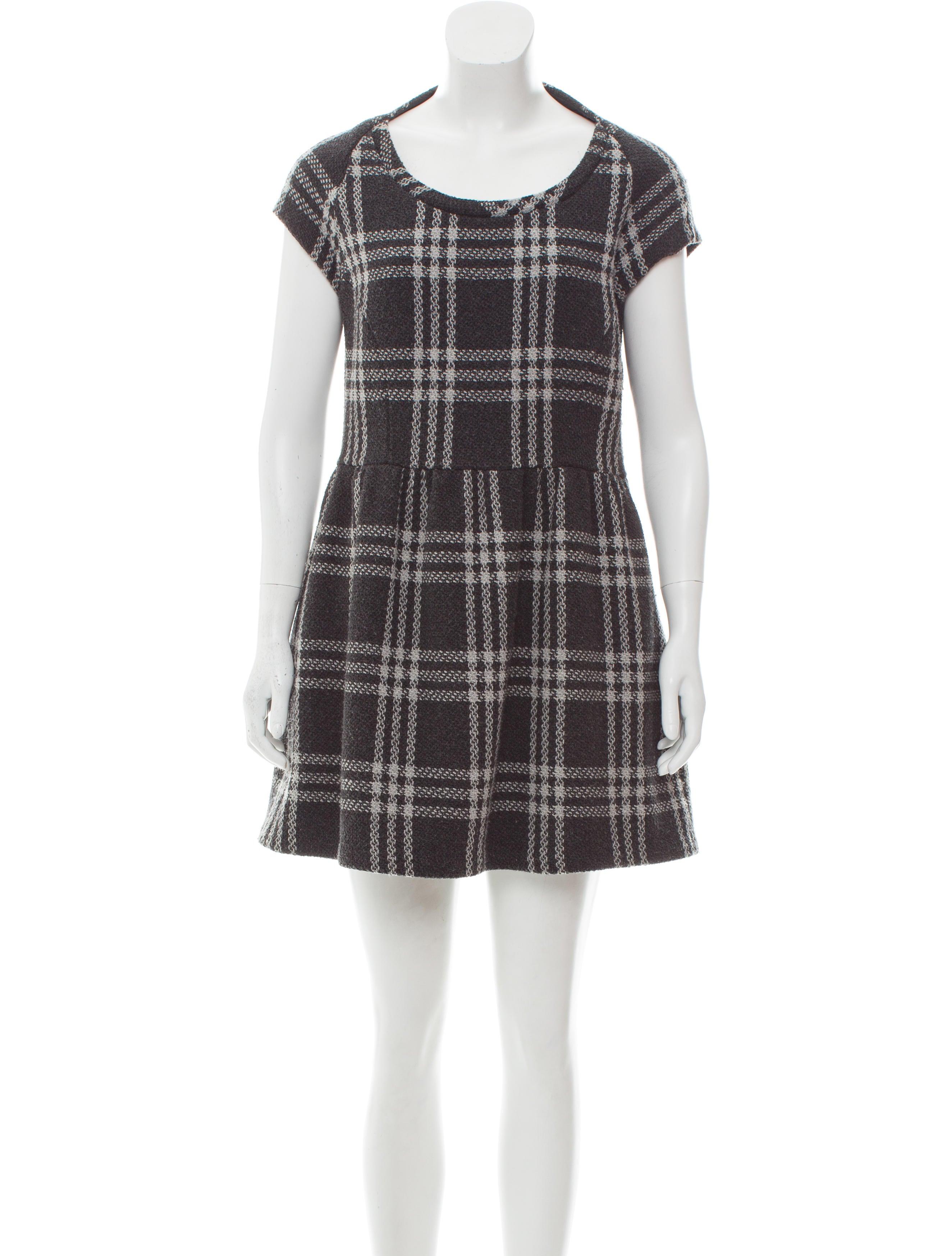 Geren Ford Vintage Plaid Dress - Clothing - WGE20023 | The RealReal