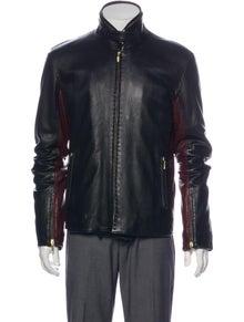 G.Guaglianone Leather Coat