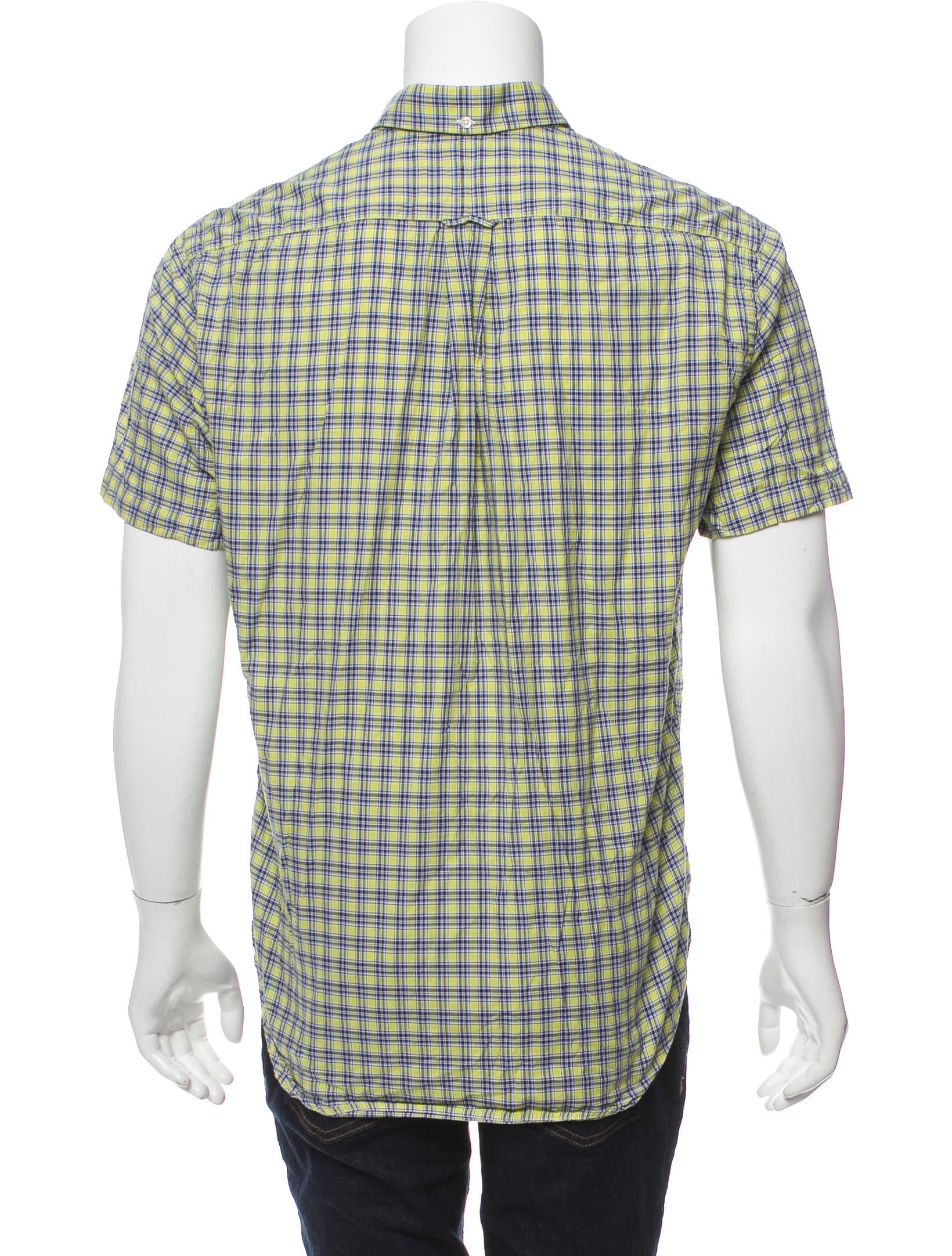 Gitman Bros X Opening Ceremony Plaid Button Up Shirt