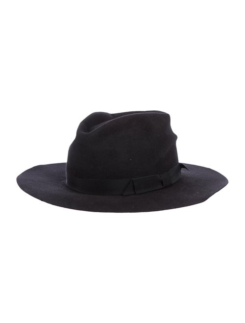 Gladys Tamez Felt Fedora Hat