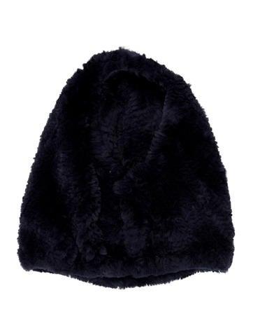 Glamourpuss Fur Knit Snood w/ Tags None