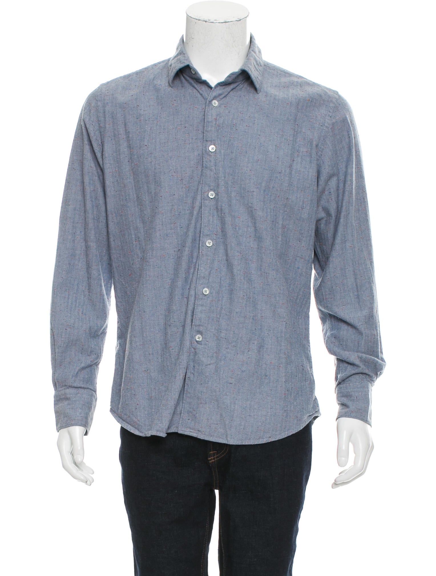 Glanshirt Long Sleeve Button Up Shirt Clothing