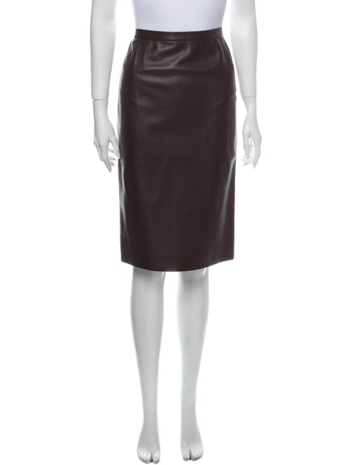 Gaultier² Knee-Length Skirt Brown