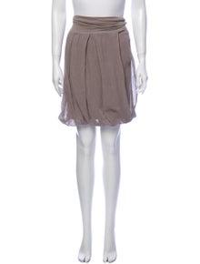 GUNEX x Brunello Cucinelli Knee-Length Skirt