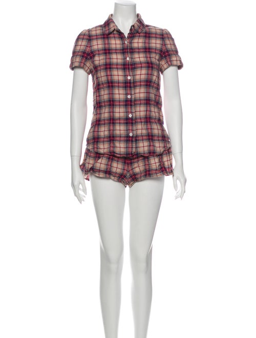 Goop G. Label Amy Pajama Set red