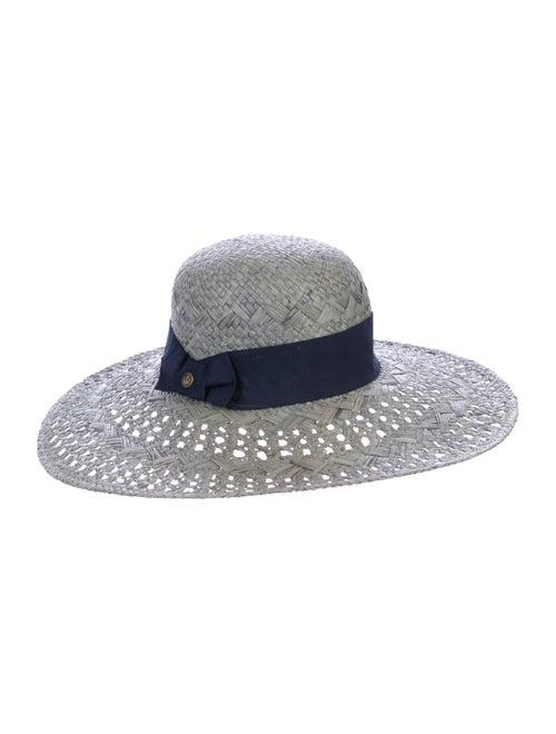 Goorin Bros. Straw Wide-Brim Hat Grey - image 1