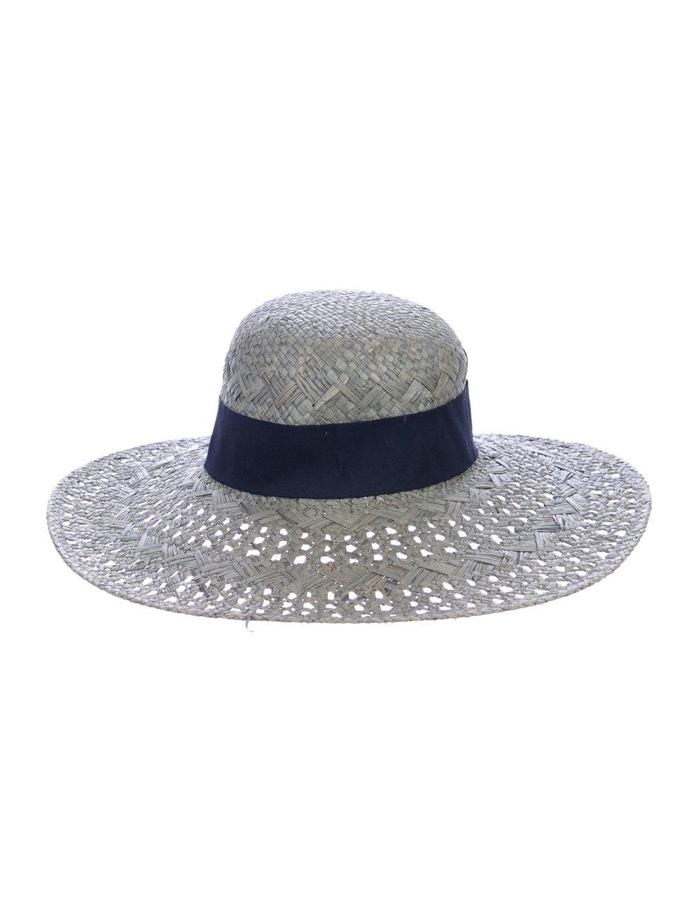 Goorin Bros. Straw Wide-Brim Hat Grey - image 2