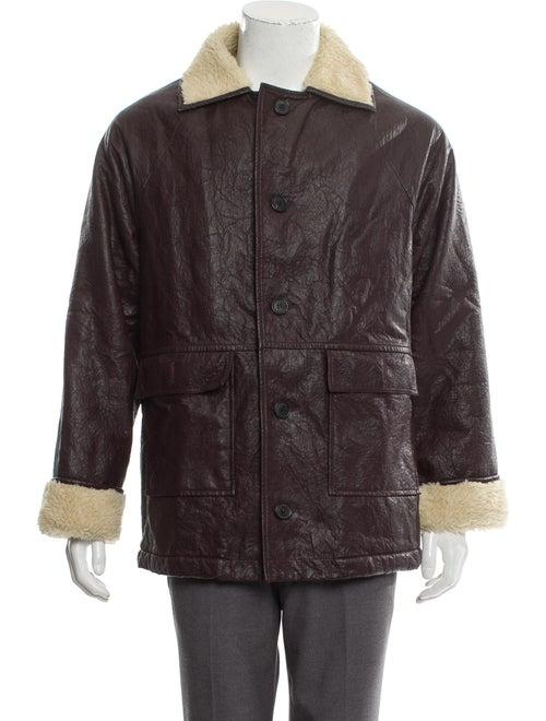 Gosha Rubchinskiy Faux-Shearling Jacket