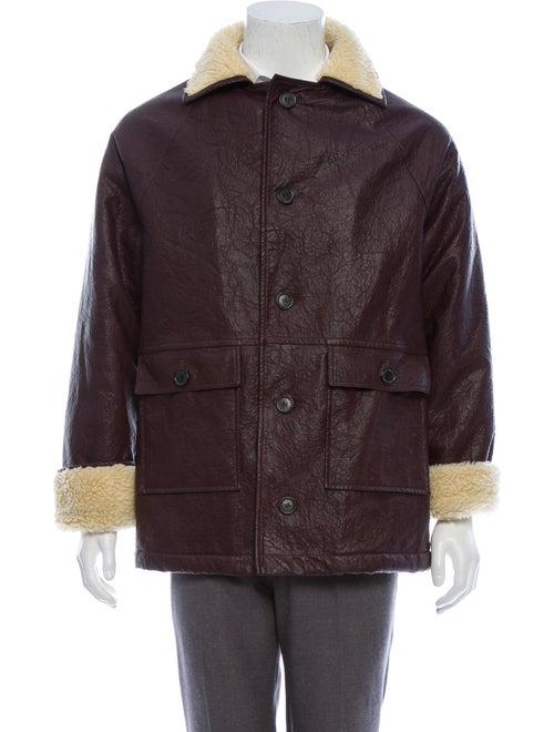Gosha Rubchinskiy Faux Shearling Jacket