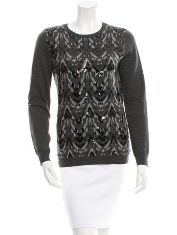 Gryphon Embellished Sweater None