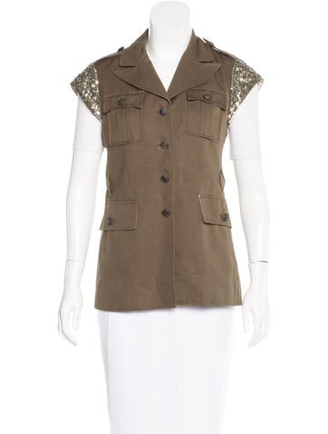 Gryphon Sequined Lightweight Vest
