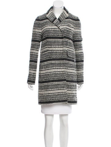 Gryphon Textured Notch-Lapel Coat None