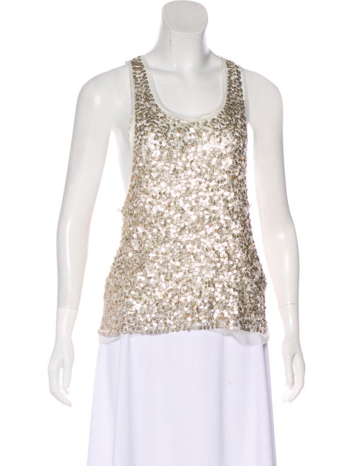 ac660c38e2688 Gryphon Sleeveless Sequin Top - Clothing - WGR22929