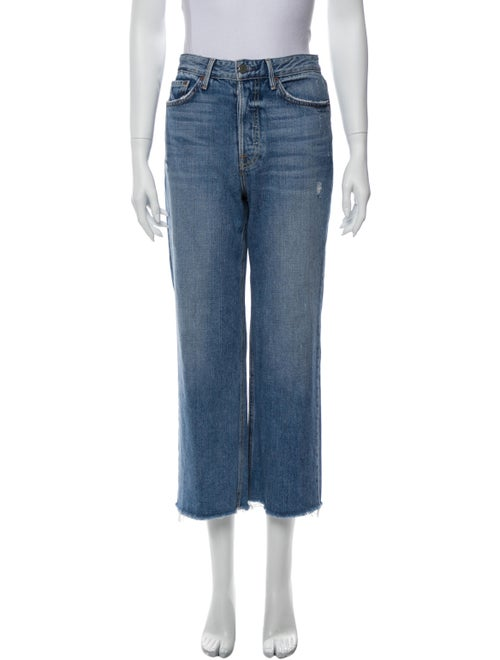 Grlfrnd High-Rise Wide Leg Jeans Blue