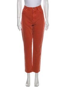 GRLFRND High-Rise Straight Leg Jeans w/ Tags