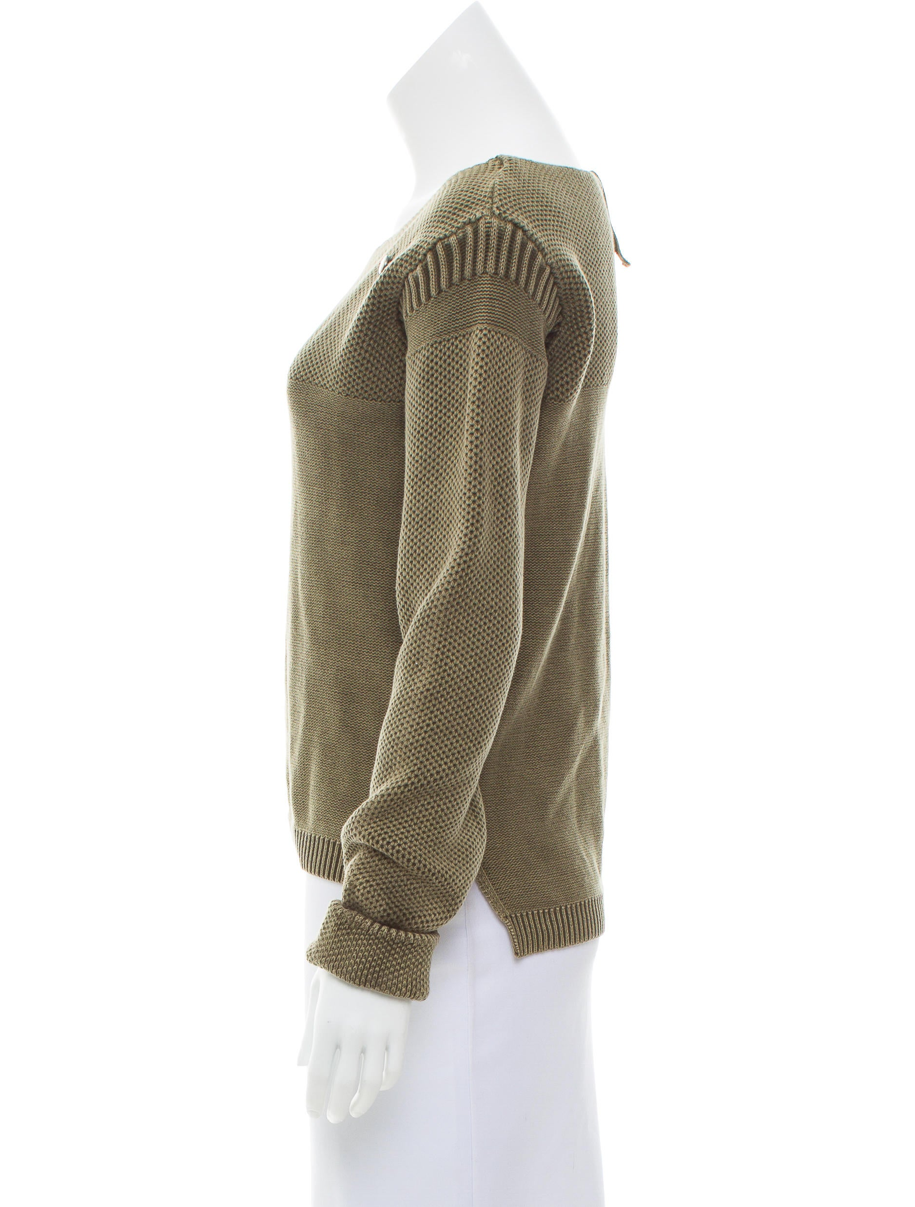g star raw distressed long sleeve sweater w tags. Black Bedroom Furniture Sets. Home Design Ideas
