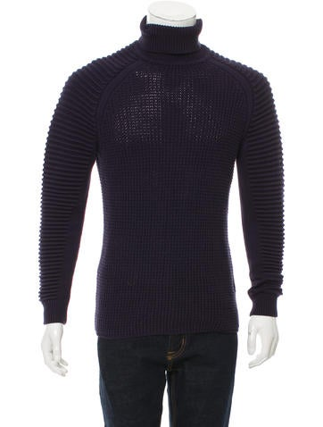 G-Star RAW Rib Knit Turtleneck Sweater None