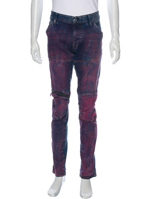 G-Star RAW Skinny Jeans Purple