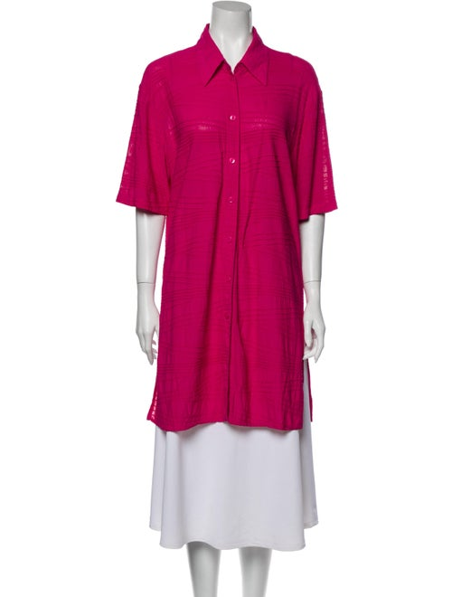 Gottex Short Sleeve Tunic Pink