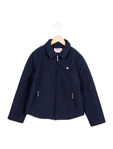 Il Gufo Girls' Lightweight Quilted Jacket None